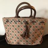 Dooney & Bourke Bags | Dooney & Bourke Small Tote Handbag | Color: Brown | Size: Os