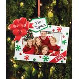 Personalized Planet Ornaments - Christmas Gift Photo Frame Personalized Ornament