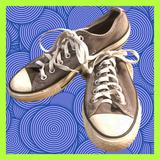 Converse Shoes   Chuck Taylor All Star Gray Low Top Sneaker S7   Color: Gray   Size: 7