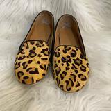 J. Crew Shoes | J. Crew Animal Print Flats | Color: Black/Brown | Size: 7