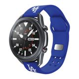"""""""Royal Los Angeles Dodgers 20mm Samsung Compatible Watch Band"""""""