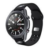 Black Philadelphia Eagles 20mm Samsung Compatible Watch Band