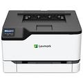 Lexmark C3224dw Farb Laser Drucker DIN A4 Schwarz, Rot 40N9100
