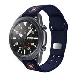 Navy Houston Astros 20mm Samsung Compatible Watch Band