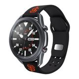 Black San Francisco Giants 20mm Samsung Compatible Watch Band