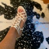 Nine West Shoes   Nine West Sexy White Cage Sandals   Color: White   Size: 7.5