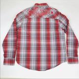 Levi's Shirts   Levi'S Signature Western Shirt Men Xl Spell Out   Color: Red/White   Size: Xl