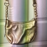 Michael Kors Bags   Michael Michael Kors Gold Leather Small Purse Bag   Color: Gold   Size: Os