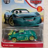 Disney Toys | New! M Fast Fong Disney Pixar Cars Metal Diecast | Color: Green/Yellow | Size: Osb