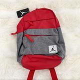 Nike Bags   Nike Jordan Backpack School Gym Bag Nwt Mini Bag   Color: Gray/Red   Size: Os