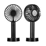 OXINGO 2021 Upgraded Small Desk Mini Fan w/ Battery Rechargeable, Portable Handheld Personal USB Fan w/ 3 Speed Strong Wind For Outdoor Activity