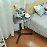 CHWRAR SIYDEARS Raised & Lowered Mobile Lazy Laptop Desk Sofa End Table Side Table Snack Tray in Black, Size 35.4 H x 23.2 W x 18.9 D in   Wayfair