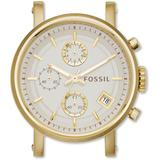 Stainless Steel Quartz Watch Bar C181019 - Metallic - Fossil Watches