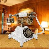 Bloomsbury Market Retro Rotary Phone, Vintage Rotary Dial Telephone Old Fashioned Landline Phones For Home, Office & Hotel Decor - | Wayfair in White