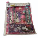 Disney Other | Nwthpdisney Minnie 10-Pc School Stationary Set | Color: Gray | Size: Osg