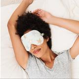 Free People Accessories | Free People Mint Vegan Leather Star Sleep Eye Mask | Color: Gold/Green | Size: Os