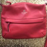 Kate Spade Bags | Kate Spade Red Leather Crossbody Bag | Color: Red | Size: Os