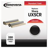 Innovera Compatible Cartridge-Replacement for UX5CR Thermal Transfer Print Cartridge Black