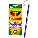 Crayola 12 Count Nontoxic Colored Pencils