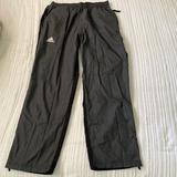 Adidas Pants | Adidas Wind Pants | Color: Black/Gray | Size: L