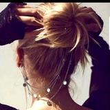 Free People Jewelry   Free People Ear Cuff Hair Jewelry   Color: Silver   Size: Os