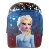 Disney Accessories | Disney Girls Frozen 2 Elsa Backpack School Bag 16 | Color: Blue/Purple | Size: Osg