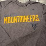Nike Tops   Long Sleeve West Virginia University   Color: Gray   Size: M