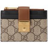 Padlock Card Case Wallet - Natural - Gucci Wallets
