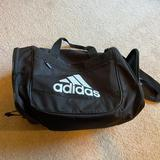 Adidas Other | Adidas Defender Small Duffel Bag Black | Color: Black/White | Size: Os
