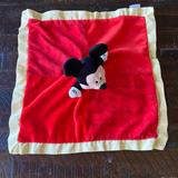 Disney Other | Disney Baby Mickey Lovey Security Blanket | Color: Red/Yellow | Size: One Size