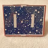 Kate Spade Holiday   Kate Spade Let It Snow 14 Photo Cards   Color: Blue/White   Size: Os