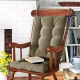 Andover Mills™ Indoor Rocking Chair Cushion Polyester/Polyester blend in Yellow, Size 3.0 H x 17.0 W x 21.0 D in | Wayfair ADML7920 39868503
