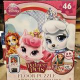 Disney Games | 3 $15 Palace Pets Floor Puzzle | Color: Cream/White | Size: Os