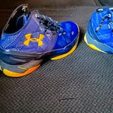 Under Armour Shoes | Curry 2 Dub Nation Shoes | Color: Blue/Yellow | Size: 9.5