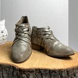 Anthropologie Shoes | Anthropologie Sychellea Ankle Boots Silver Sz 6 | Color: Gray/Silver | Size: 6