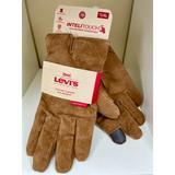 Levi's Accessories | Levi'S Mens Leather Gloves Size Xl Tan Brown Beige | Color: Tan | Size: Xl