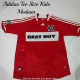 Adidas Shirts & Tops   4$20 Adidas Kids Soccer Tee Size Medium   Color: Red   Size: Mb
