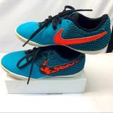 Nike Shoes | Nike Elastico Pro Unisex Kids Indoor Soccer Cleats | Color: Black/Blue | Size: 11 C Little Kids