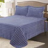 Chloe Bedding by Direct Home Textile Group in Blue (Size FULL)
