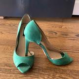 Zara Shoes   Green Suede Stilettos. Never Worn   Color: Green   Size: 8