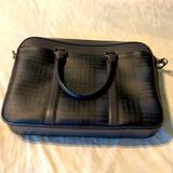 Coach Bags   Coach Briefcase Blue And Black   Color: Black/Blue   Size: Os