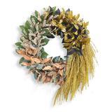 Gathered Leaves Wreath - Grandin Road