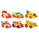 PAW Patrol True Metal Spark 6-Pack Collectible 1:55 Scale Die-Cast Vehicles, Multicolor