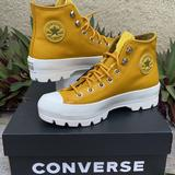Converse Shoes | Converse Ctas Lugged Winter Hi Boots Wmns | Color: Gold/Yellow | Size: Various