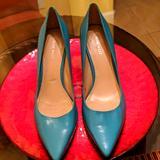 Nine West Shoes | Nine West Arlene Pointed Toe Pumps | Color: Green | Size: 9