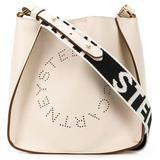 Stella Logo Crossbody Bag - Natural - Stella McCartney Shoulder Bags