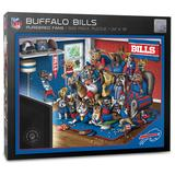 Buffalo Bills Purebred Fans 18'' x 24'' A Real Nailbiter 500-Piece Puzzle