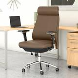 Bush Business Furniture Metropolis Executive Chair Upholstered in Orange, Size 45.5 H x 26.96 W x 25.98 D in | Wayfair CH1601SDL-03