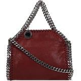 Falabella Shoulder Bag In Bordeaux Faux Leather - Red - Stella McCartney Shoulder Bags