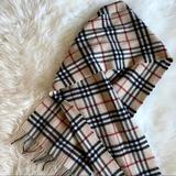 Burberry Accessories | Burberry Scarf 100% Cashmere | Color: Tan | Size: 168 X 30cm66.1 X 11.8in